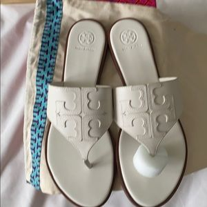 Tory Burch Jamie leather Sandals